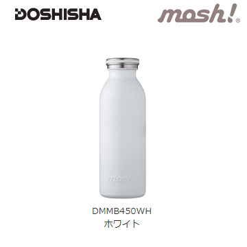 Doshisha MOSH 450ml保溫瓶-白色