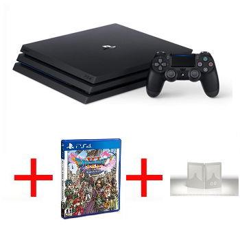 【限量網銷獨賣組A】-【1TB】PS4 Pro 主機 - 極致黑