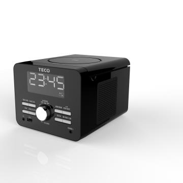 TECO USB/MP3時鐘音響