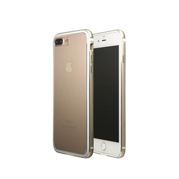 【iPhone 8 Plus / 7 Plus】OVERDIGI 雙料鋁合金邊框 - 金