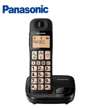 國際牌Panasonic 大字鍵數位無線電話 KX-TGE110TWB
