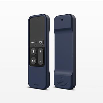 【Apple TV 4K】elago 遙控器保護套 - 藍色