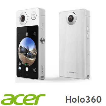 ACER宏碁 HoLo 360智慧型全景相機 白色