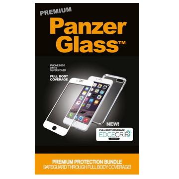 PanzerGlass 3D 滿版鋼化玻璃保護貼 - 白