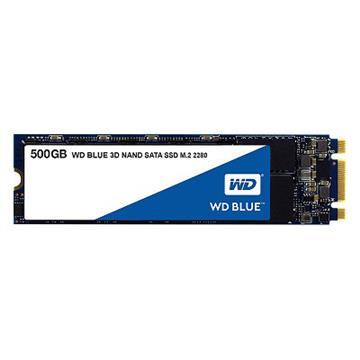 WD SSD Blue系列-500G固態硬碟(3D TLC)