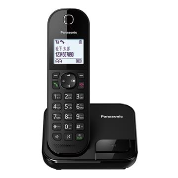 【展示機】Panasonic中文輸入數位無線電話(黑)
