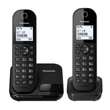 (福利品)國際牌Panasonic 中文輸入雙機數位無線電話 KX-TGC282TWB