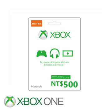 【ESD】微軟 Microsoft 台幣500元禮物卡數位下載版(K4W-00302)