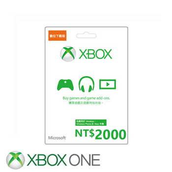 【ESD】微軟 Microsoft 台幣2000元禮物卡數位下載版(K4W-00304)