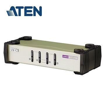 ATEN 4埠USB+PS/2多電腦切換器
