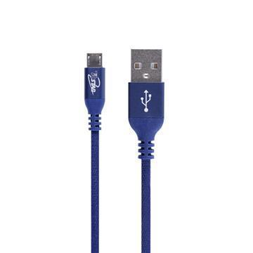 T.C.STAR Micro USB 3A不織布充電線-1.25M