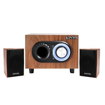 KINYO 2.1聲道立體擴大音箱