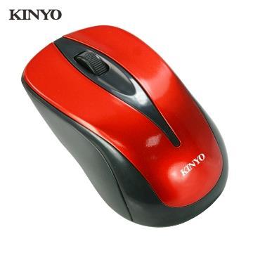 KINYO USB藍光靜音有線滑鼠