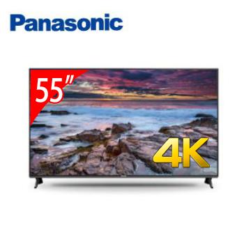 【福利品】Panasonic 55型六原色4K智慧聯網顯示器(含電視視訊盒)
