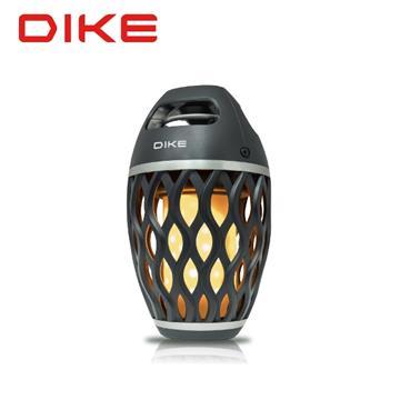 (展示機)DIKE 火焰露營燈藍牙揚聲器