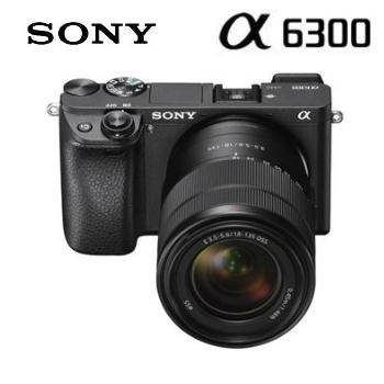 【福利品】SONY α6300可交換式鏡頭相機KIT-黑
