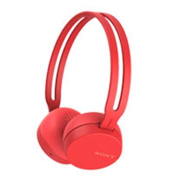 SONY WH-CH400無線藍牙耳罩式耳機-紅