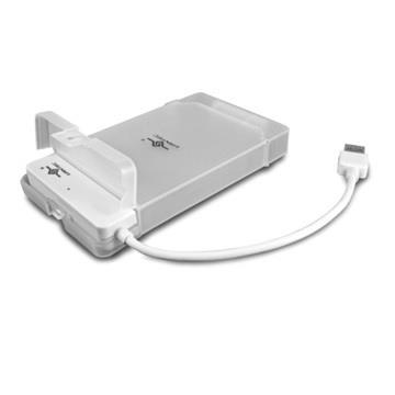 凡達克2.5吋硬碟轉USB3.0外接盒-白