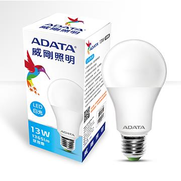 ADATA 威剛13W高效能LED球泡燈-白光