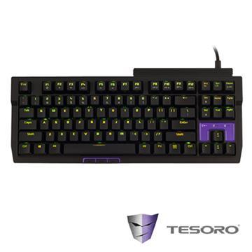 TESORO Tizona機械式鍵盤(青軸/中文版) G2NFL(TW)BL