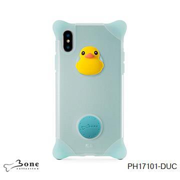 【iPhone X】Bone  泡泡保護套-  鴨子