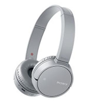 (福利品)SONY索尼 無線藍牙耳罩式耳機-灰 WH-CH500/H