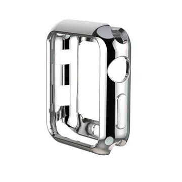 【38mm】NYMPH BLUE Apple Watch 輕薄彈性保護套 - 銀色
