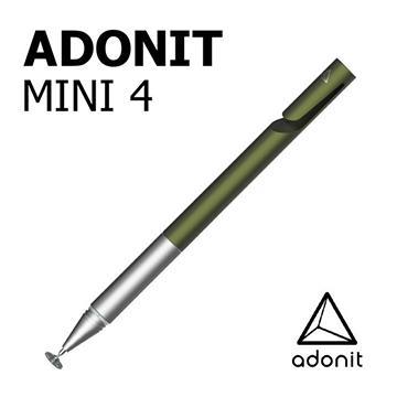 Adonit Mini 4 迷你隨行觸控筆-綠