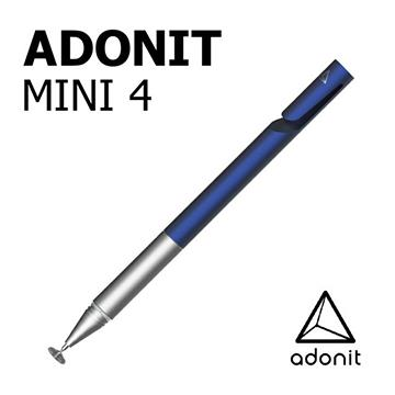 Adonit Mini 4 迷你隨行觸控筆-藍