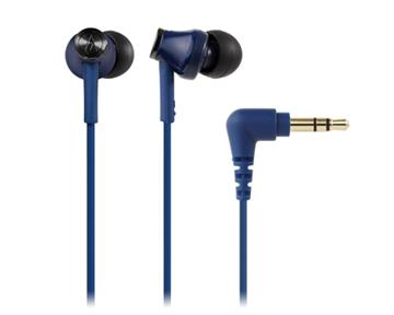 鐵三角 CK350M耳塞式耳機-藍