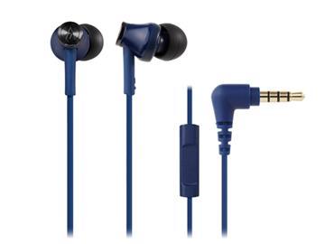 鐵三角 CK350iS耳塞式耳機-藍