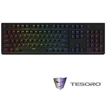 TESORO 剋龍劍機械式鍵盤-黑(青軸中文)