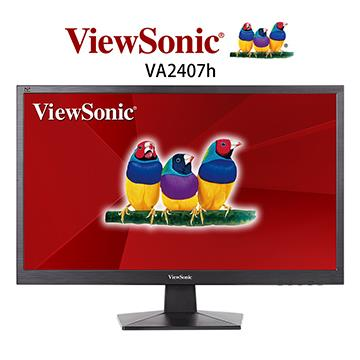 【24型】ViewSonic Full HD 時尚顯示器
