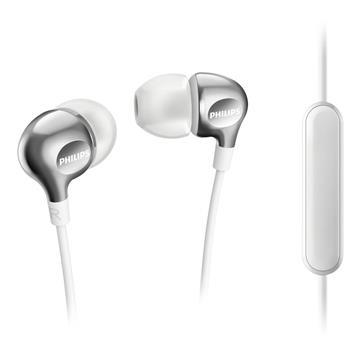 PHILIPS SHE3705入耳式耳機-白