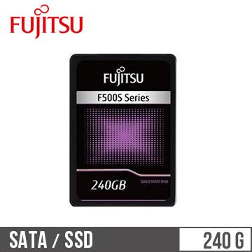 【240G】Fujitsu 2.5吋SSD固態硬碟(F500S系列)