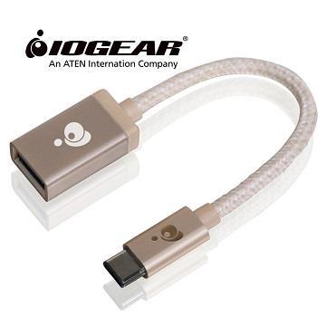 IOGEAR Type-C對USB A母轉接器-金