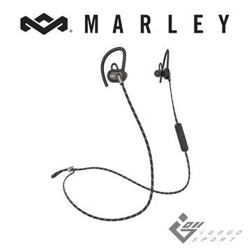 Marley Uprise藍牙運動耳機-經典黑