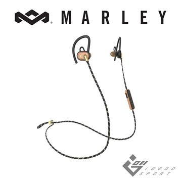 Marley Uprise藍牙運動耳機-金沙黑