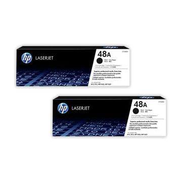 HP 48A 黑色原廠碳粉匣(CF248A)買一送一 CF248A