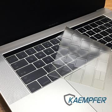 """【13"""" / 15""""】Kaempfer MacBook Pro (Touch Bar/Touch ID 版) 高透防水鍵盤膜"""