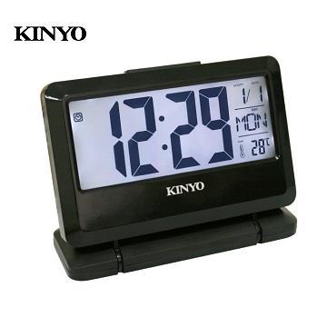 KINYO 大字幕LCD多功能電子鐘