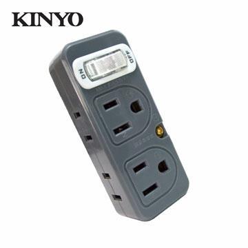 KINYO 節電1開4插分接器