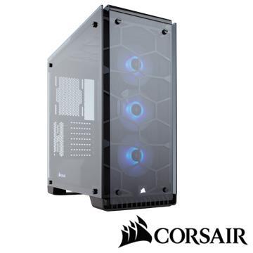 CORSAIR 570X RGB電腦機殼-黑