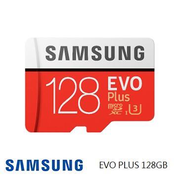 「公司貨」【U3 / 128G】SAMSUNG EVO Plus MicroSD記憶卡