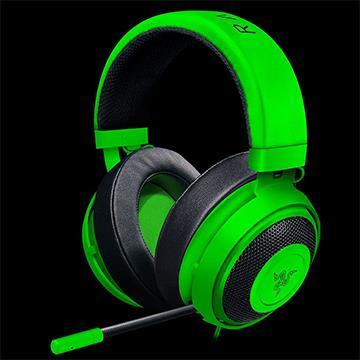 【福利品】Razer Kraken Pro V2 Oval耳機-綠