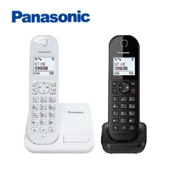 國際牌Panasonic 中文輸入數位無線電話(白+黑)