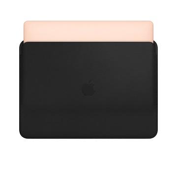 13吋 MacBook Pro皮革護套-黑色