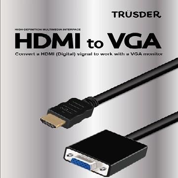 TRUSDER HDMI to VGA轉接頭