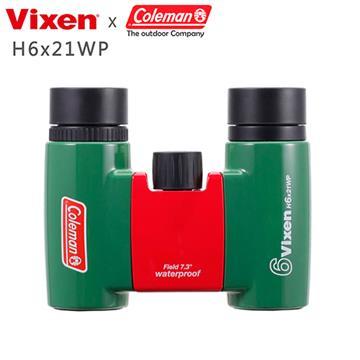 VIXEN 6倍防水型望遠鏡 H6x21WP 森林綠