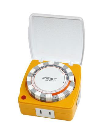 太星電工 蓋安全彩色定時器(OTM318)